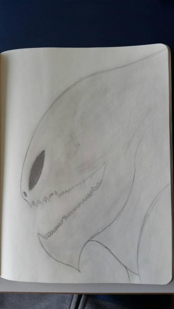 A drawning of a good friend 2 by CydonFreeman