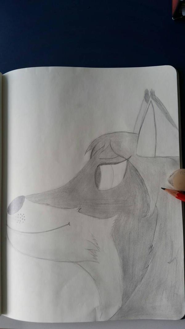A drawing of a good friend 3 by CydonFreeman