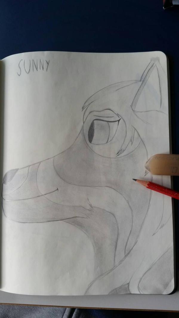A drawing of a good friend 4 by CydonFreeman