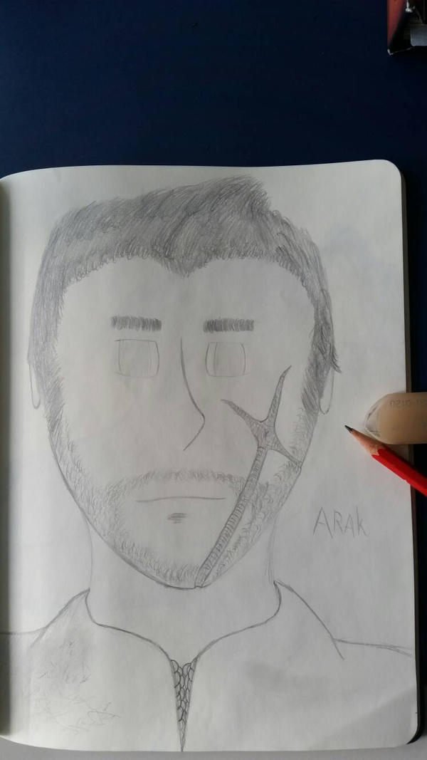 A drawing of a good friend 6 by CydonFreeman