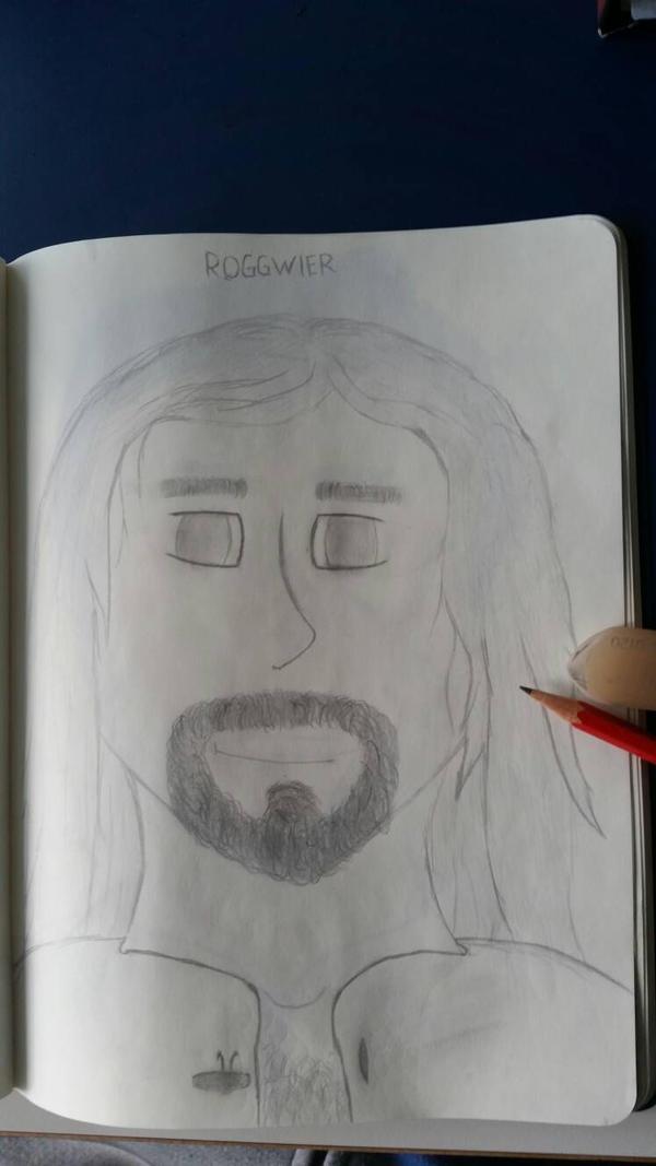 A drawing of a good friend 7 by CydonFreeman