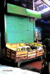 pedagang pisang by miichandh