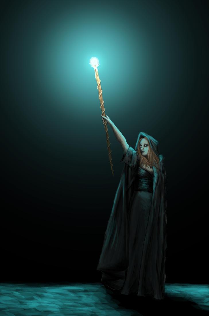 Dark Mage by GhilliedNinja