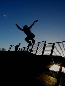 skate silhouette BSflip-5-0