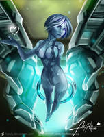 Halo: Cortana by Hassly