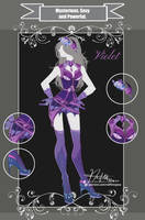 CLOSED Adoptable Outfit Auction: MSP Violet by Hassly