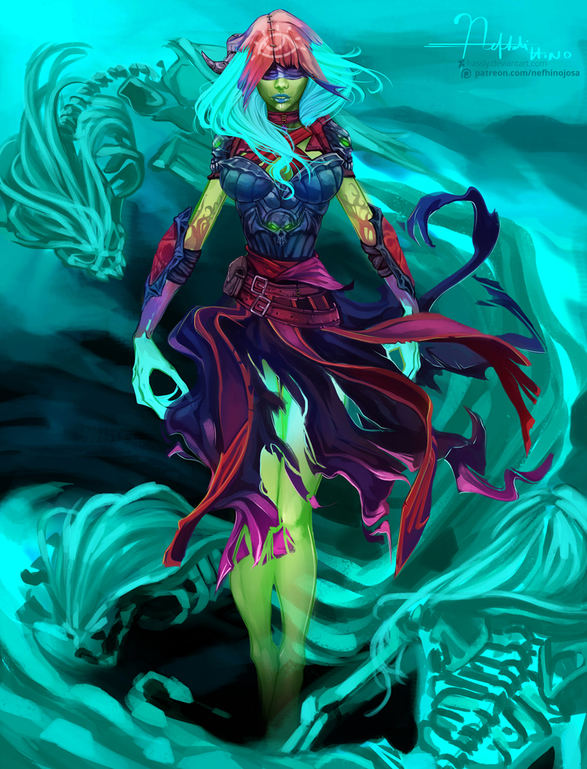 DOTA 2: Death Prophet by Hassly on DeviantArt