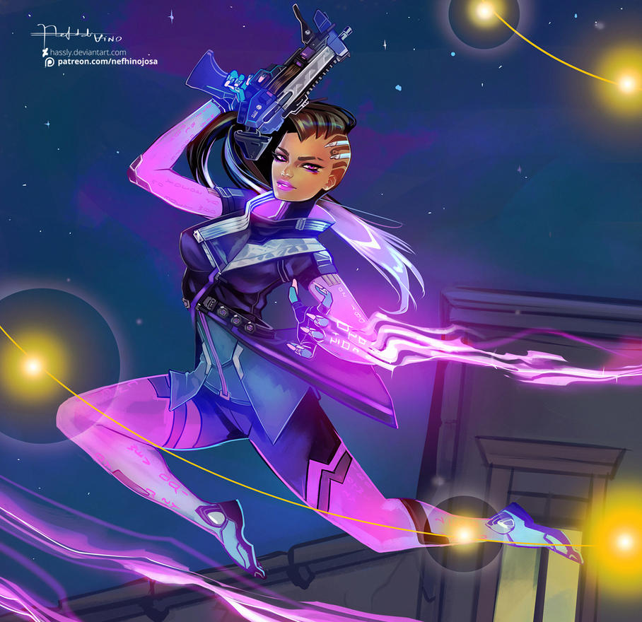Overwatch: Sombra by Hassly on DeviantArt