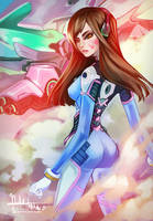 Overwatch: D. Va by Hassly