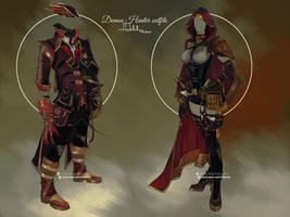 Commission: Demon Hunters