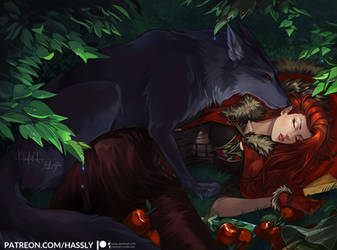 Red Riding Hood by Hassly