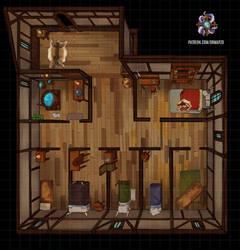 Inn, Upper Floor by Hassly