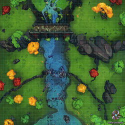 River Crossing Battle Map by Hassly