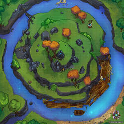 Island Battle Map by Hassly