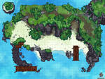 Treasure Island Dungeons And Dragons Battle Map
