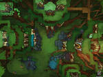 Elf Village Dungeons And Dragons Battle Map