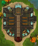 Church/Temple Dungeons And Dragons Battle Map