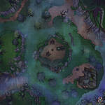 Scary Forest Battle Map for Dungeons And Dragons