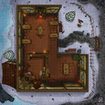 Festive Tavern Battle Map
