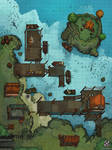 Docks Battle Map