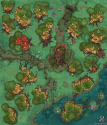 Gnome Village Battle Map