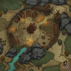 Goblin Camp Battle Map