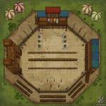 The Jousting Tournament Battle Map