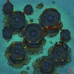 Ghostly Platforms Battle Map