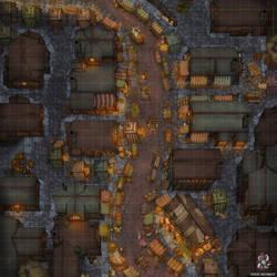 City Market Battle Map
