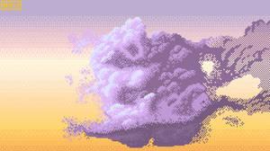 Cloud Pixel Style