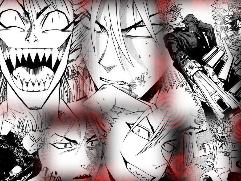 Hiruma Wallpaper by ChibiCookieGirl