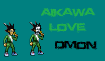 Aikawa Love sprite BLEACH by Dmontheking