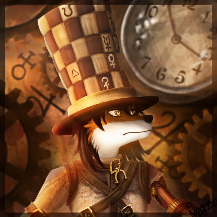 hattress- alice madness furry version by Riggsfur