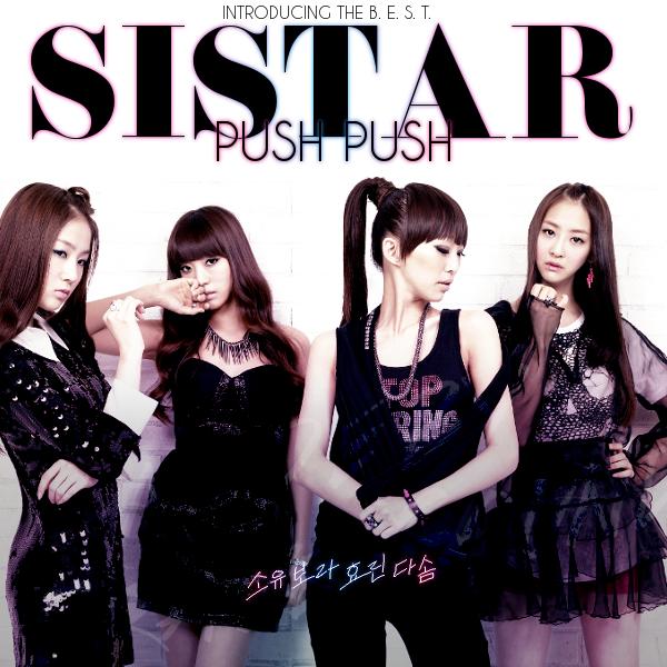 Sistar Push Push by JaeSeongELF