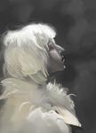 Snow white study by amapandajoy