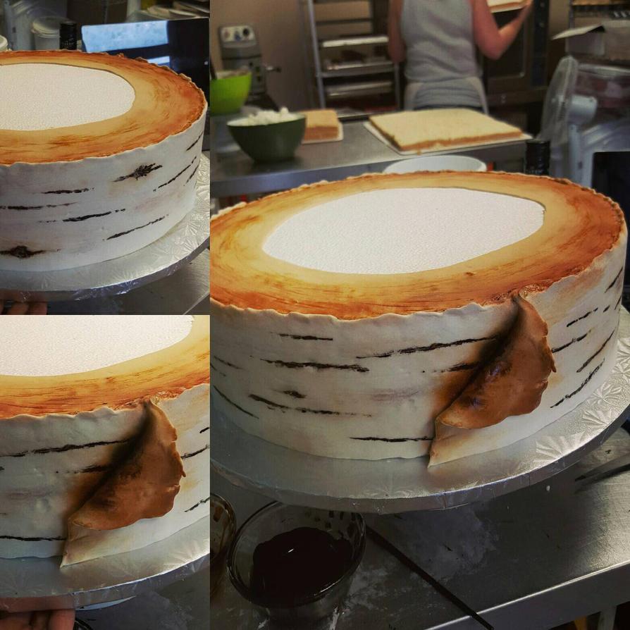 Birch cake by Kitoniss