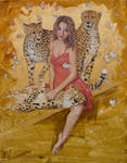 Madeleine oil on canvas 100x80 cm