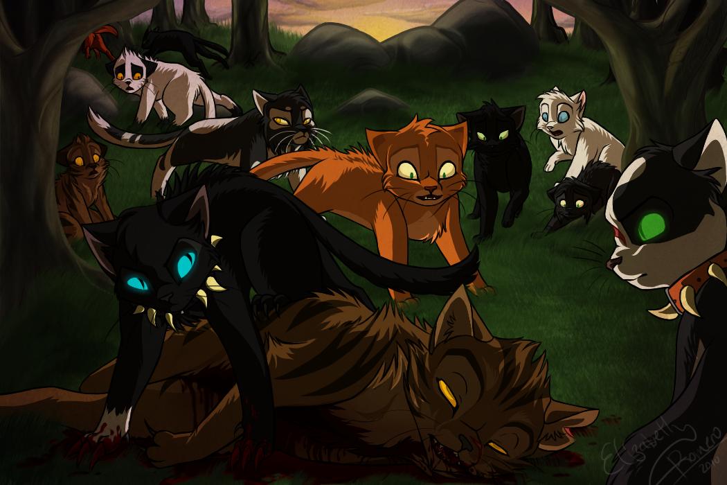 Tigerstar's death by Yolly-anda