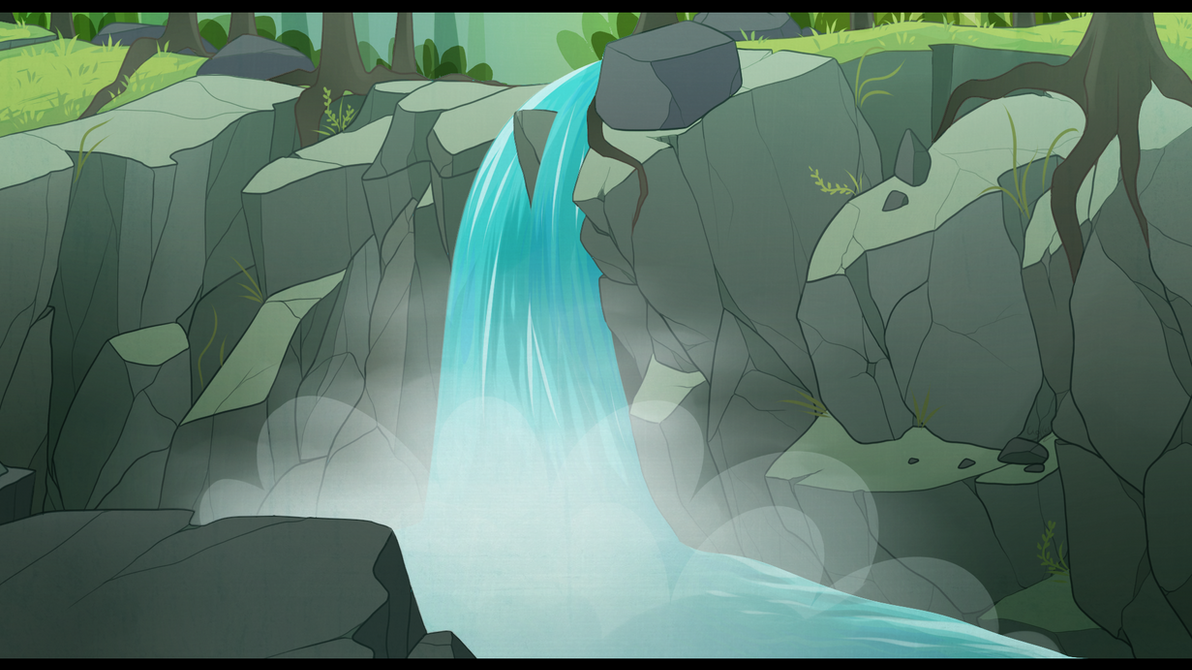 Waterfalls by Yolly-anda