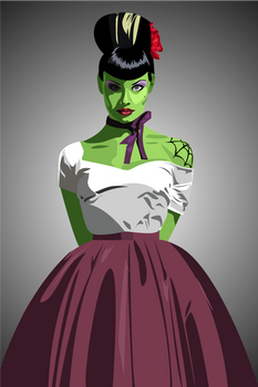 Miss Green Thang