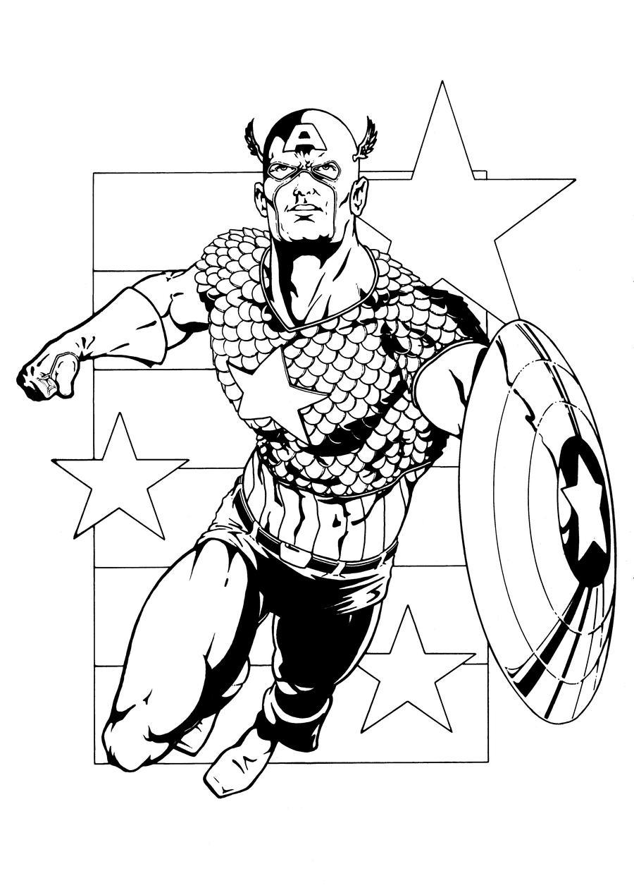 Captain America 2 by hawk5