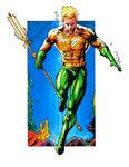 Aquaman 1960's color