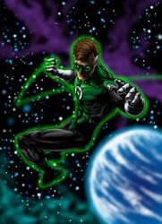 Green Lantern by hawk5