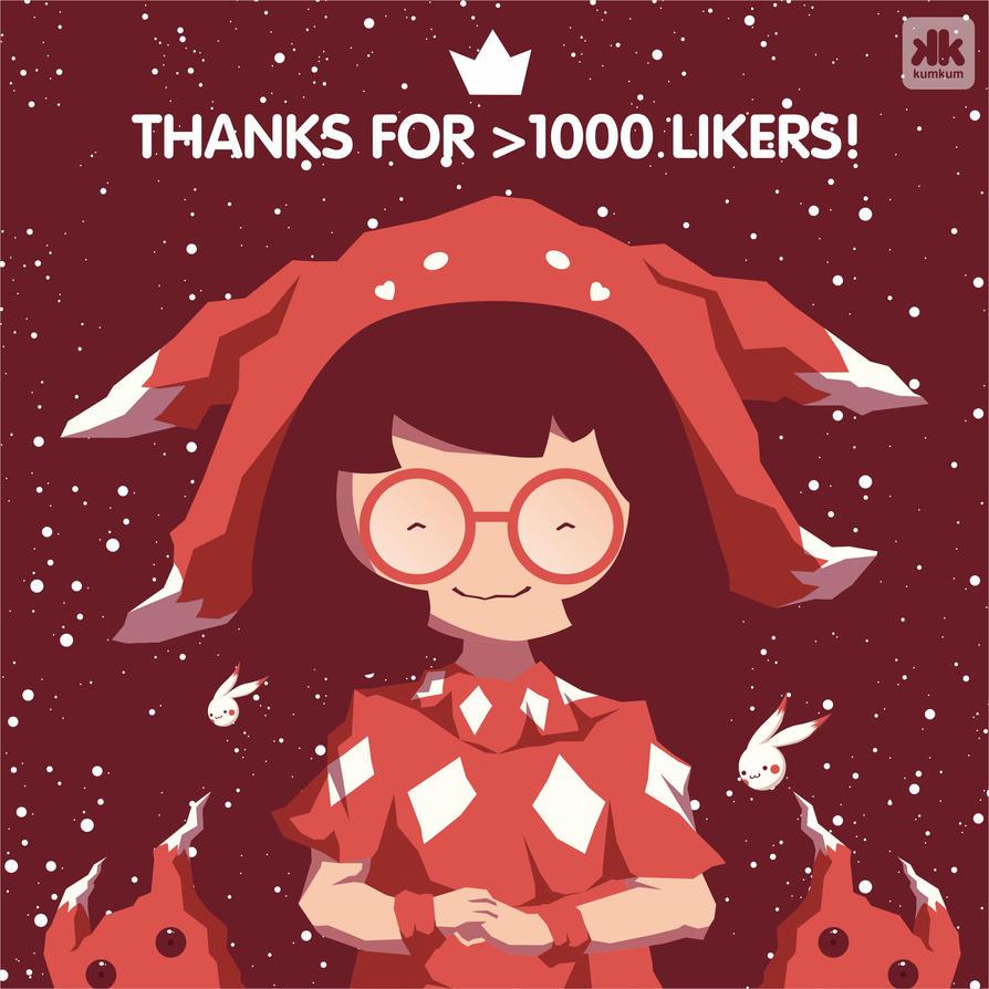 Ruby 1000likers by kum---kum