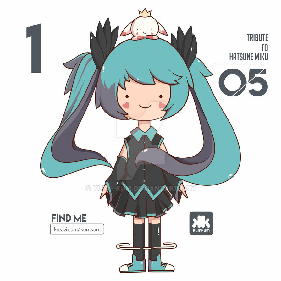 Miku Fan Artt by kum---kum