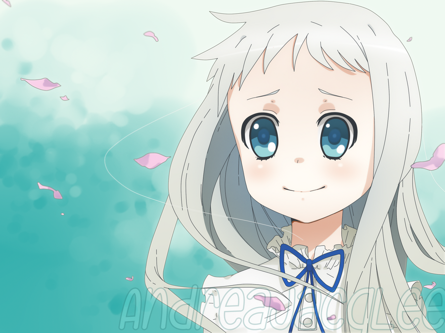 Menma - AnoHana The Flower We Saw That Day by AndreaJacqLee
