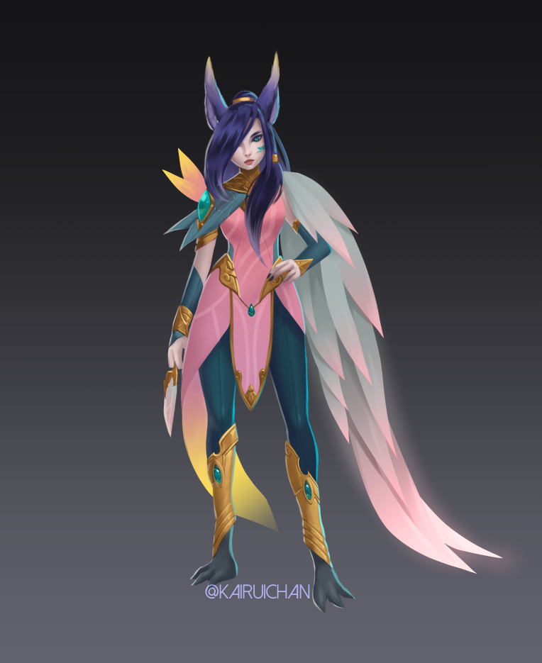 Order of the Lotus Xayah [Unofficial Concept]