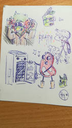 dhmis sketches 3/6 by MatthewGames