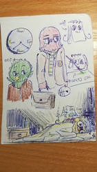 dhmis sketches 4/6 by MatthewGames