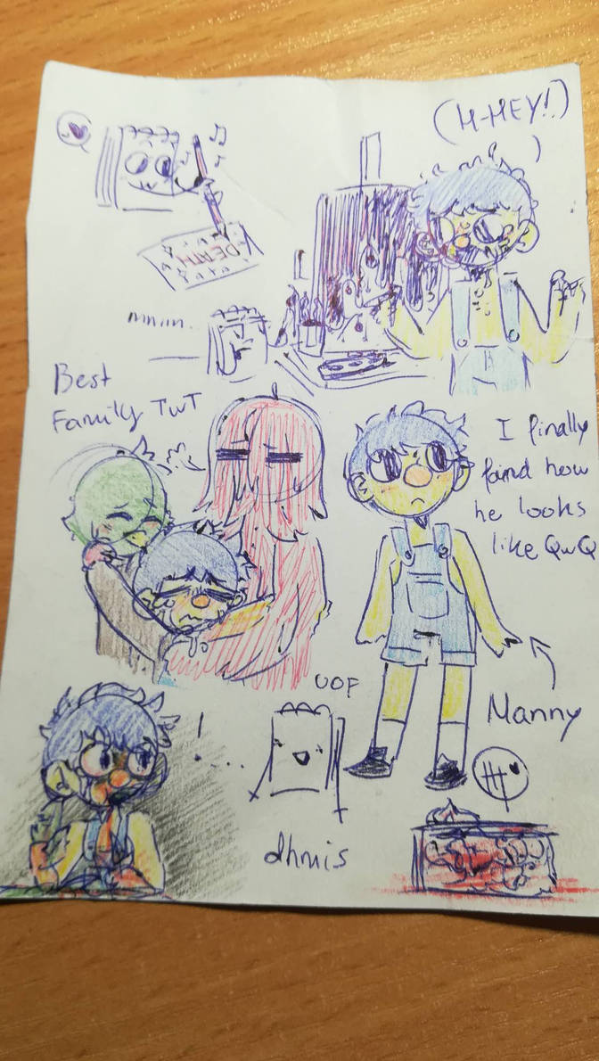 dmhis sketches 6/6 by MatthewGames